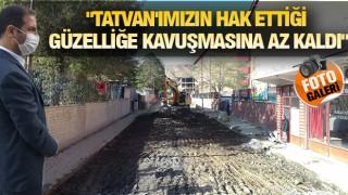 TATVAN KIŞA HAZIRLANIYOR