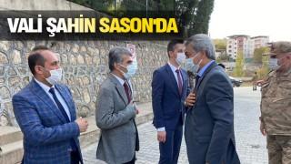 Başkan Arslan çalışmaları Vali Şahin'e aktardı