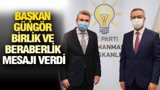 KAHRAMANMARAŞ'TA 'BİR'LİK SÜRÜYOR