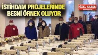 ALKIŞLAR BESNİ BELEDİYESİ'NE