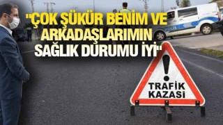 BİTLİS'TE KORKUTAN KAZA