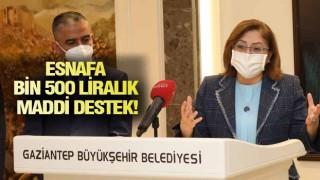 GAZİANTEP'TE ESNAFA BİR DESTEK DAHA