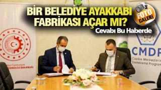 GÜRPINAR'DA İKİNCİ FABRİKA YOLDA