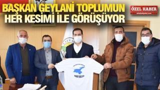 Başkan Geylani Tatvan için temaslarını sürdürüyor