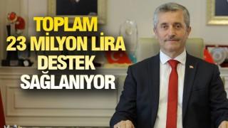 ŞAHİNBEY'DEN BİR DESTEK PAKETİ DAHA