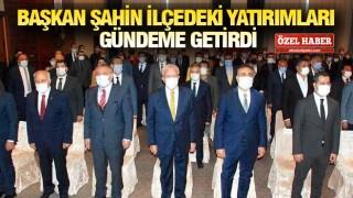 Başkan Şahin Bakan Kasapoğlu'na temaslarında eşlik etti