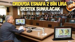 ORDU'DA ESNAFA CAN SUYU