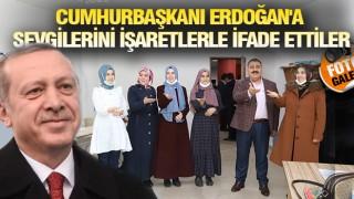 """PALANDÖKEN'DEN """"SENİ SEVİYORUZ"""" MESAJI"""