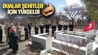 ADİLCEVAZ'DA ŞEHİTLER DUALARLA ANILDI