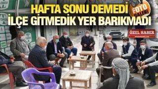 HİLVAN'DA GÖNÜLLER BAŞKAN BAYIK'TAN RAZI