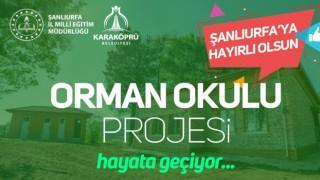 KARAKÖPRÜ'DE ORMAN OKULU KURULUYOR