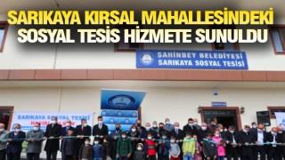 ŞAHİNBEY'DE MERKEZ KIRSAL AYRIMI YOK