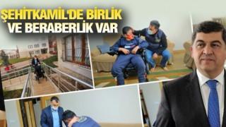 ŞEHİTKAMİL'DE ENGEL YOK