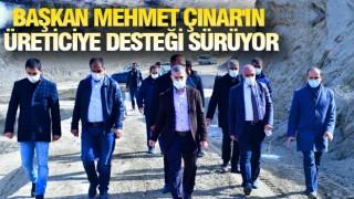 YEŞİLYURT'TA TARIMA TAM DESTEK