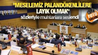 PALANDÖKEN'DE MUHTARLAR ZİRVESİ