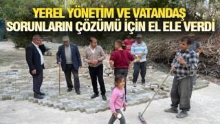 GEVAŞ'TA TOZLU - ÇAMURLU YOL KALMIYOR